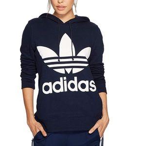 NWT Adidas Originals Trefoil Logo Collegiate Navy